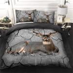 Deer Broken Bedding Set