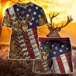Deer Hunt Flag 3D