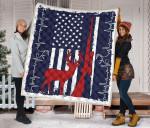 Deer Flag Blanket