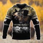 Moose Hunting Black T0602
