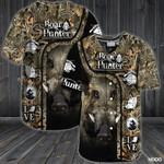 Boar Hunting Baseball Shirt