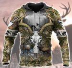 Head Elk Hunting All Over Printed 1401
