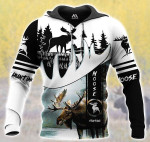 Moose Hunting All Over Printed 0901