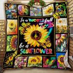 Sunflower Hippie Quilt RB