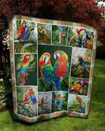Parrot Parrot Quilt Blanket