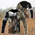 Deer Hunting Black All Over Printed 0712