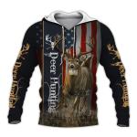 Deer Flag All Over Printed 0912
