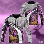 Deer Purple Hunting Hoodie LTV202005K02VT