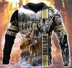 Deer Hunting Snow T0403
