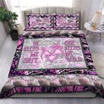 Deer Hunting Pink Bedding Set