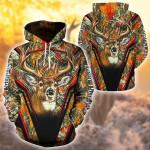 Deer Hunting Orange All Over Printed 0701
