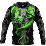 Dragon Green 3D