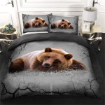 Hunting Bear Bedding Set