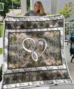 Moose Love Blanket