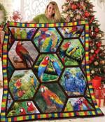 Parrot My Favorite Parrot Quilt Blanket