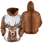 Deer Skin Hoodie MCL132005N01VT