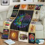 Hippie Fleece Blanket