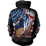 Horse Flag 3D