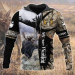 Moose Hunting All Over Printed 0712