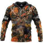 Hunting Deer Horn 3D