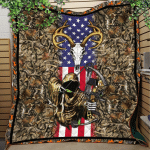 Bowhunting Flag Quilt