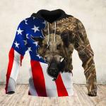 Boar Hunting Camo Flag 3D