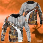 Deer Orange Hunting Hoodie LTV202005K04VT