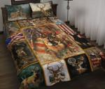 Deer Flag Bedding Set
