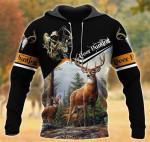 Deer Hunting Black All Over Printed 0701
