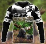 Moose Hunting Beautiful D1701