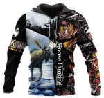 Moose Hunting Lava All Over Printed 0612