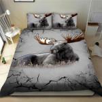 Moose Broken Bedding Set