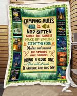 Camping Fleece Blanket