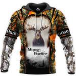Moose Hunter Loop White 3D