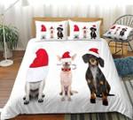 Christmas Dog Bedding Set