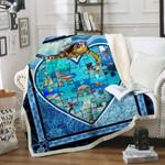 Turtle Fleece Blanket