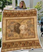 Labrador Love Blanket Pawslovely
