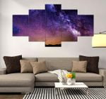 Night Sky Beautiful Scenery Nature 5 Pieces Canvas Unique Home Decor 14