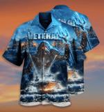 Aquaman Navy veteran Unisex Hawaiian Shirts #KV