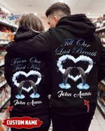 Dolphin Couple Till Our Last Breath Hoodie gift for valentine #V