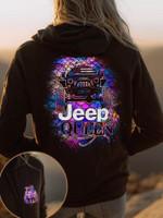 Jeep Queen Hoodie #KV