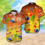 Professional Beer Taster Corgi On The Beach Hawaiian Shirts