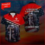 Warrior of Christ for God for country Hawaiian Aloha Shirts #KV