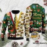 Bus Driver Merry Christmas Ugly Sweater #H