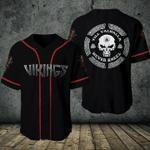 Halloween -  Viking Till Valhalla Never Kneel Baseball Jersey