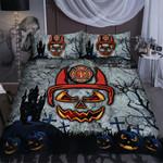 Halloween Style Firefighter Duvet Cover Bedding Set