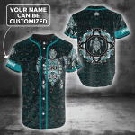 The Spirit Turtle Native American 3D Personalized Baseball Jersey