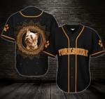 Yorkshire Terrier Mandala Circle Custom Name and Photo Baseball Jersey