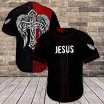 Faith Cross Wing Of Jesus 3D Baseball Jersey #H