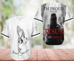 I'm Proud To Say Jesus Is My Savior 3D Baseball Jersey #Dh